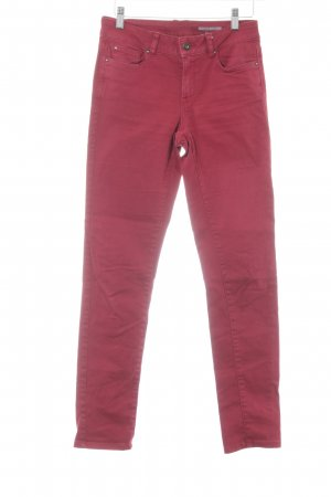 edc Slim Jeans rot Casual-Look