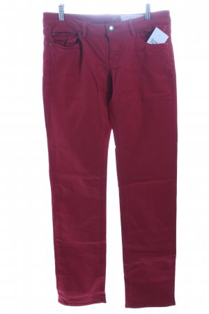 Edc Slim Jeans ziegelrot Casual-Look