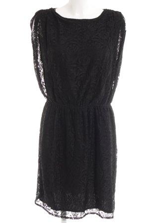 edc Kanten jurk zwart elegant