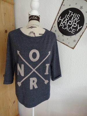 edc Statement Sweatshirt - Jeansblau