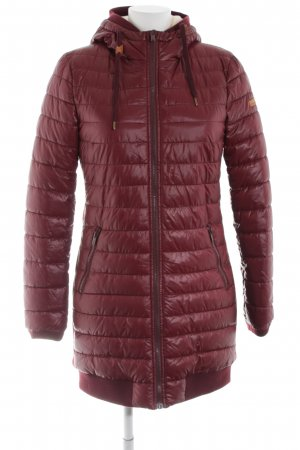 edc Steppjacke rot Steppmuster Casual-Look