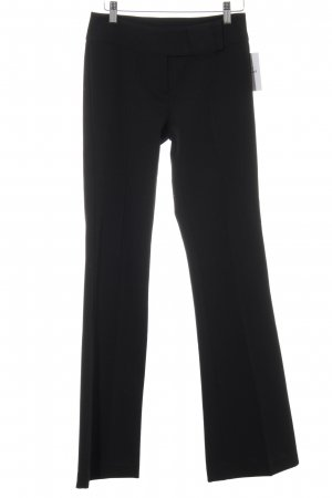 edc Stoffhose schwarz Business-Look