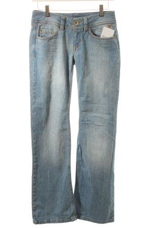 Edc Esprit Straight-Leg Jeans hellblau Casual-Look