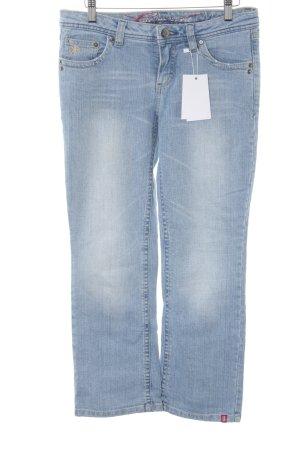 edc Straight-Leg Jeans himmelblau Casual-Look