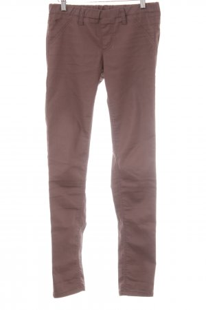 edc Stretchhose braun Casual-Look