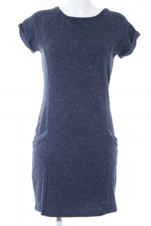 edc Stretchkleid blau meliert