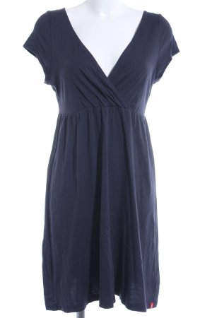 edc Stretchkleid dunkelblau Casual-Look