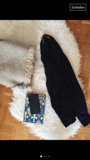 edc strick cardigan dunkelblau S