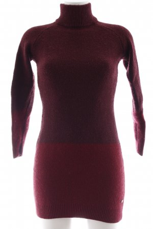 edc Strickkleid bordeauxrot-dunkelrot Casual-Look