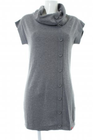 edc Strickkleid grau Casual-Look