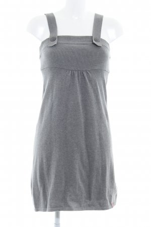 edc Knitted Dress grey flecked casual look