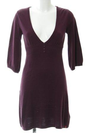 edc Strickkleid purpur Casual-Look