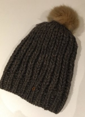 edc by Esprit Bobble Hat dark brown-beige