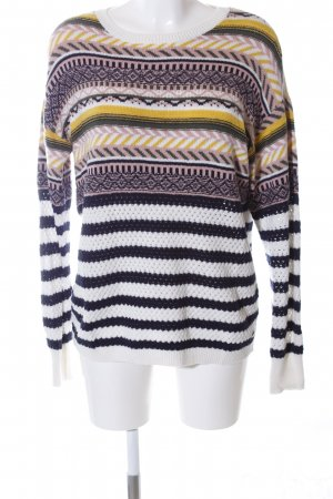 edc Strickpullover Mustermix Casual-Look
