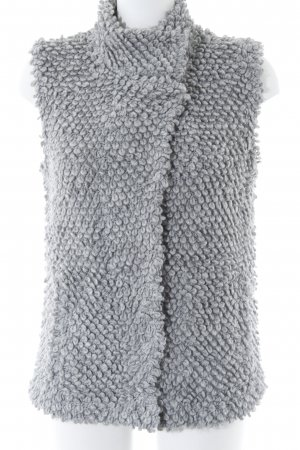 edc Knitted Vest light grey casual look