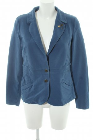 edc Sweatblazer stahlblau Casual-Look