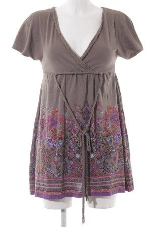 edc Sweat Dress flower pattern casual look