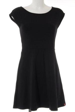 edc Vestido de tela de sudadera negro look casual