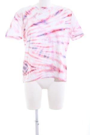 edc T-Shirt Batikmuster Casual-Look