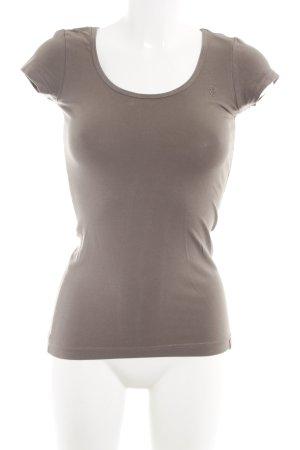 edc T-Shirt graubraun Casual-Look