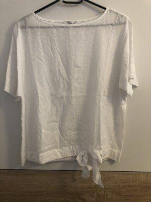 Edc T-Shirt mit Schleife