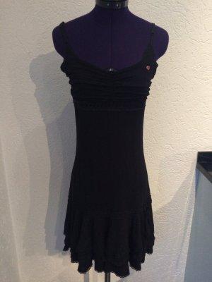 EDC Träger-Kleid in Schwarz