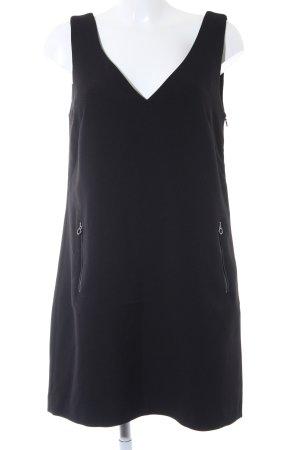 edc Trägerkleid schwarz schlichter Stil