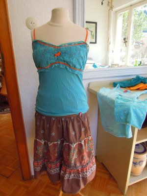 edc Lace Top turquoise