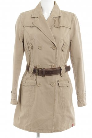 edc Trenchcoat wollweiß Casual-Look
