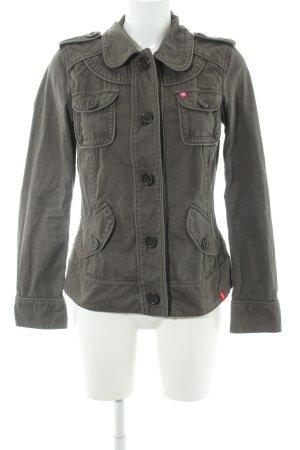 edc Übergangsjacke khaki-pink Street-Fashion-Look