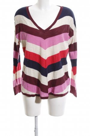 edc V-Neck Sweater striped pattern casual look