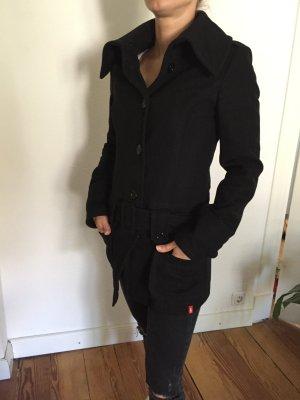 Edc Esprit Wollen jas zwart Wol