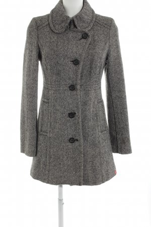 edc Wool Coat black-white elegant