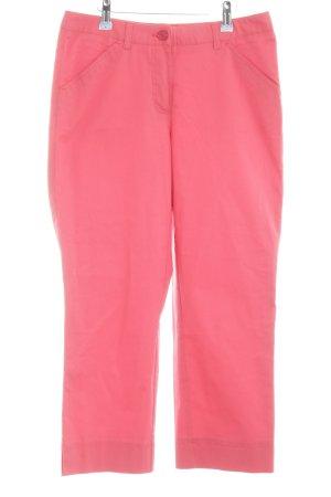 Eddie Bauer Pantalon 7/8 rose style décontracté