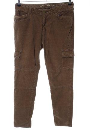 Eddie Bauer Corduroy Trousers brown casual look
