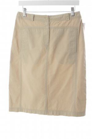 Eddie bauer High Waist Rock creme Nude-Look