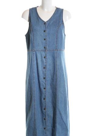Eddie Bauer Jeanskleid blau Casual-Look