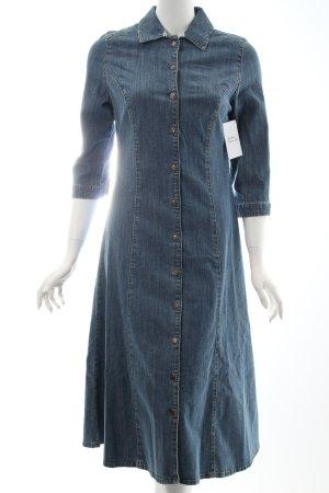 Eddie bauer Jeanskleid blau Jeans-Optik