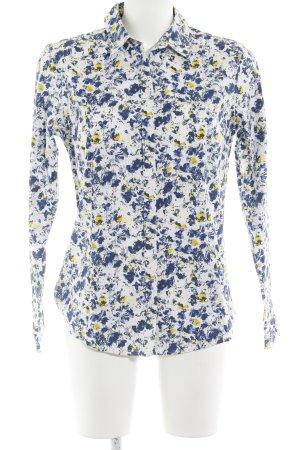 Eddie Bauer Langarmhemd florales Muster Casual-Look