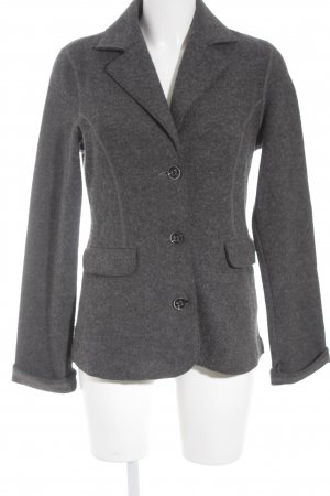 Eddie Bauer Long-Blazer grau Business-Look