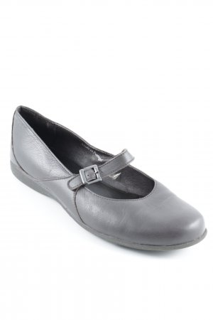 Eddie Bauer Mary Janes grey brown casual look
