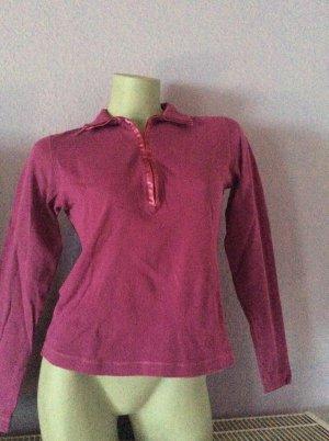 Eddie Bauer Shirt langarm purpur Gr. XS