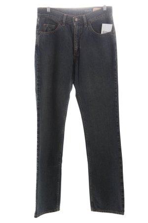 Eddie bauer Straight-Leg Jeans blau Vintage-Look