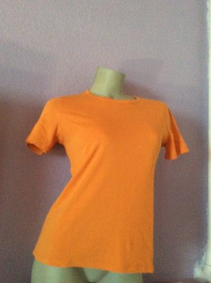 Eddie Bauer T-Shirt orange Gr. XS