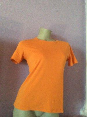Eddie Bauer T-Shirt orange Gr. XS