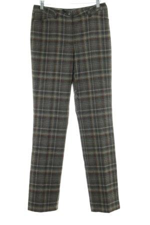 Eddie Bauer Pantalon en laine kaki motif à carreaux style d'affaires