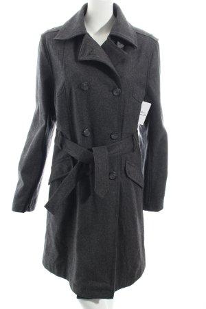 Eddy's Jackets Wollmantel anthrazit Brit-Look