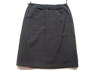 edel bleistiftrock schwarz futter topzustand gr. xs 34