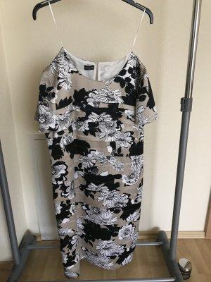 Edel Damenkleid Gerry Weber Kleid Gr.42 Stufenlook Neu mit Etikett
