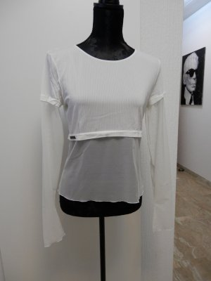 edel Designer Croped Shirt Wolford Karl Lagerfeld Fashion Blogger Top Bluse